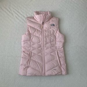 The North Face Pink Puffer Vest